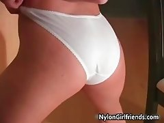 Exciting blond hottie Aimee Addison part1