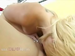 Horny college girls riding on real dick
