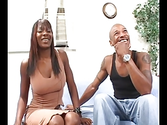 Big dick dude bangs a hot ebony