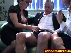 SPH microcock dude gets teased