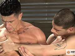 Trenton Ducati fucks Ty Roderick hard and deep by the