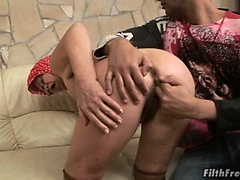 Old slut who can't get enough dick!