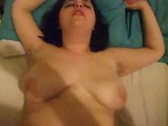 Fat bbw slut with saggy tits is fucked